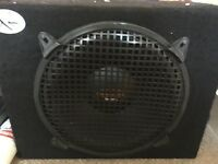 Car 12 inch subwoofer with Alpine Amplifier RMS