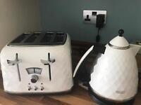De'longhi brilliant white 4 slicer toaster