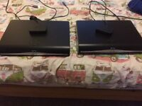 2 sky hd boxes with wifi connectors