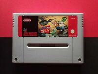 Earthworm Jim 2 SNES Super Nintendo Super NES Retro Games vintage GAMEPO
