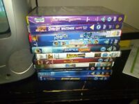 T.v plus dvd and kis dvds