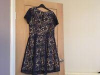 Oasis lace dress size 14