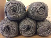 Knitting Wools, Soft Acrylic DK Yarns
