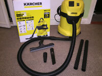 Karcher WD 3P Wet and Dry Vacuum Cleaner