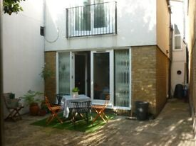 1 BEDROOM MEWS HOUSE WITH GARDEN - DALSTON LANE E8 1JG UNFURNISHED