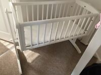 Mothercare crib - WITH mattress