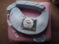 My Brest Friend nursing breastfeeding pillow with new original cover