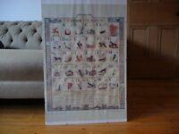 Poster: Welsh Alphabet Chart; T.C. Evans, Cadrawd c.1900 (National Museum of Wales); 70x50cm
