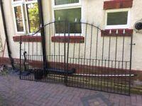 10 ft wrought iron gates