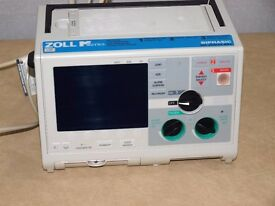 Zoll M Series Defibrillator biphasic AED with 3 lead ECG.