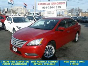 2014 Nissan Sentra Auto All Power/Bluetooth &*GPS$39/wkly