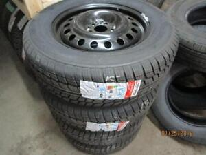235/65R17 SET OF 4 NEW FORTUNA WINTER TIRES ON NEW STEEL MULTI FIT RIMS