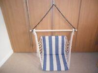 swinging hammock seat