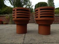 Clay Gas Flue Chimney Terminal Spigot Terracotta