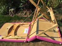 Oakworks Pink Massage Table in Excellent Condition