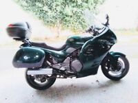 Triumph Trophy 900cc motorcycle 1996. low mileage, very good condition, full service history.