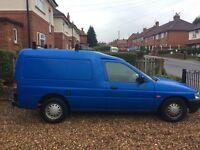 For sale Ford escort van diesel, low mileage