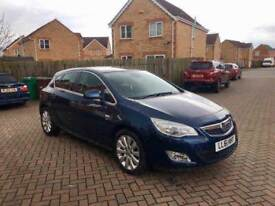 2012 VAUXHALL ASTRA SE 2.0 DIESEL AUTOMATIC, HALF LEATHER, CRUISE, MOT NOV 2018