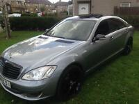 2008 MERCEDES S320CDI LIMOUSINE AUTO GREY FULLY LOADED