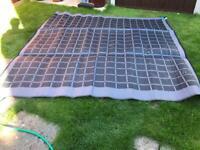 Caravan motorhome awning mat KAMPA 250 x 250 cmts app 8 x 8 ft
