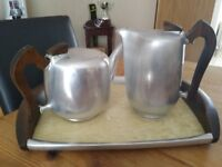 Picquot Ware Newmaid Tea set