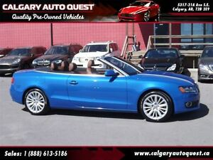 2012 Audi A5 2.0T Premium Plus CONVERTIBLE/AWD/NAVI/LEATHER