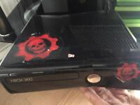 Xbox 360 with game