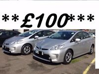 *PCO-HIRE--PCO--CAR--RENTAL--PRIUS HIRE****WITH REVERSE CAMERA AND GPS*