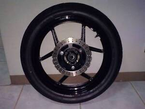 Ninja 250 Wheel incl disc, sprocket, etc Ryde Ryde Area Preview