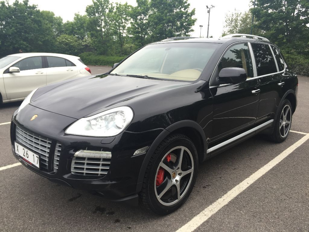 lhd left hand drive porsche cayenne turbo 2007 petrol automatic black with beige interior in. Black Bedroom Furniture Sets. Home Design Ideas