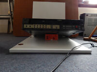 Feguson 3V55 Videostar recorder probably working selling as spares plus 7 tapes