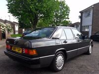 1989 Mercedes-Benz 190e 2.6 manual LHD