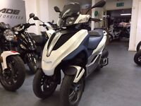 Piaggio MP3 Yourban 125cc Automatic Scooter, Low Miles, Givi Rack, ** Finance Available **
