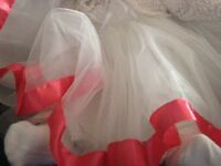 Dress, stunning special occasion dress, 3-6 months, worn for a few hours,