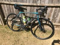 Focus Cayo carbon disc road bike brand new with extras cost over £2.5k!!