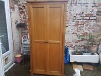 Large Double Wooden Wardrobe
