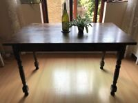 Solid wood dining table £75
