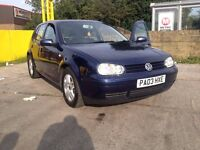 ***Volkswagen Golf 1.9 GT TDi PD Model 130, Low Mileage,Lady Owner, Full Loaded, HPi Clear...