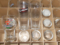 Pint Glasses x 20 - various brands