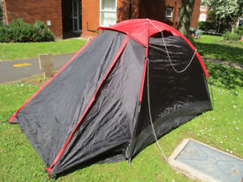 3 person frame tent, used once