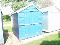 BEACH HUT, BRACKENBURY FORT, FELIXSTOWE, SUFFOLK - BARGAIN PRICE