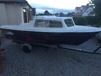Project boat 15ft cabin cruiser