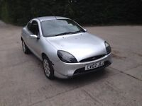 02 Plate Ford Puma 1600cc. MOT June 2017. Drives well, Nice Car, Bargain at just £300 ovno.