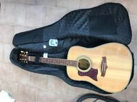 Tangle wood left handed guitar, brand new