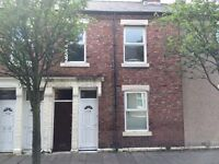 MARSHALL WALLIS ROAD, SOUTH SHIELDS - 3 BED FIRST FLOOR FLAT TO LET – NO BOND – DSS WELCOME