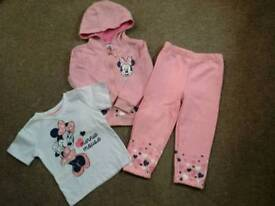 Minnie mouse tracksuit 18-24m