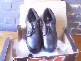 mens steel toe cap shoes uk 12 brand new