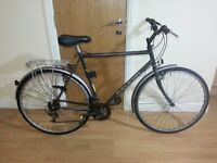 Raliegh Bike with 28 wheel size and 23 inch frame size