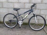 boys bike 24''raleigh aluminium frame