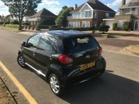TOYOTA AYGO BLACK VVT-I UNDER 1.0l PETROL MANUAL 2006-REG